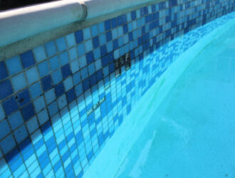 Pool Inspection Bad Tiles